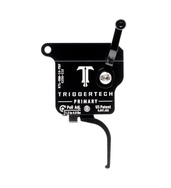 R7L-SBB-14-TBF   TriggerTech Rem700 Primary Straight Black, Left
