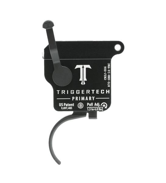 R70-SBB-14-TBC   TriggerTech Rem700 Primary Curved Black