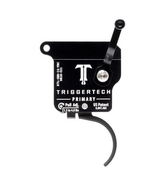 R7L-SBB-14-TBC   TriggerTech Rem700 Primary Curved Black, Left