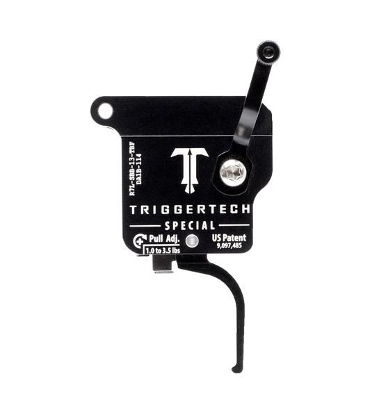 R7L-SBB-13-TBF   TriggerTech Rem700 Special Straight Black, Left