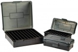 Krabička na náboje (ráže 480 Ruger-50 AE) 50 - šedá