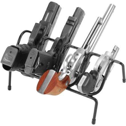 Stojan na krátké zbraně (na 4 ks)