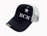 BCM Cover (Bravo Company MFG, Inc. HAT) - Black and White VENTED