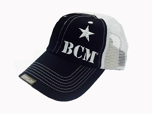 BCM-HAT-BLKANDWHT-VENTED   BCM Cover (Bravo Company MFG, Inc. HAT) - Black and White VENTED