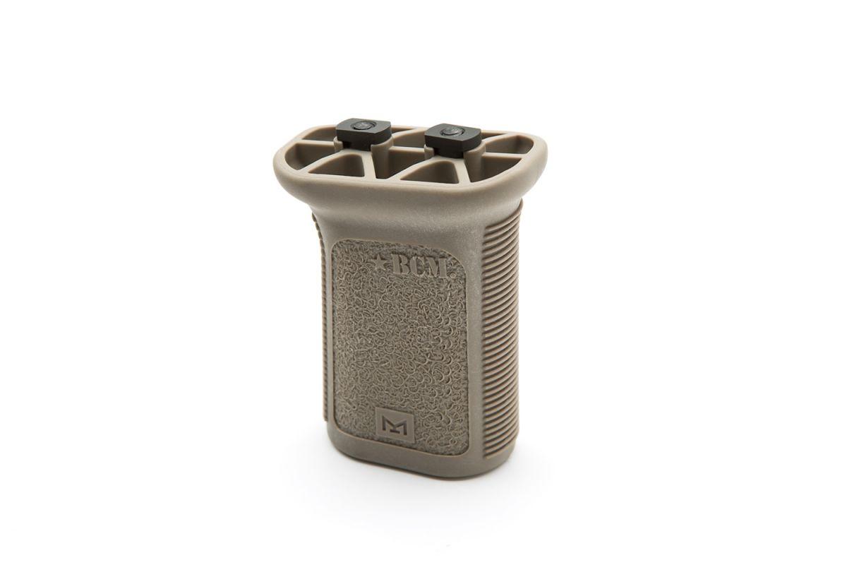 BCM-VG-MCMR-MOD-3-FDE   BCMGUNFIGHTER™ Vertical Grip - M-LOK - Short - FDE