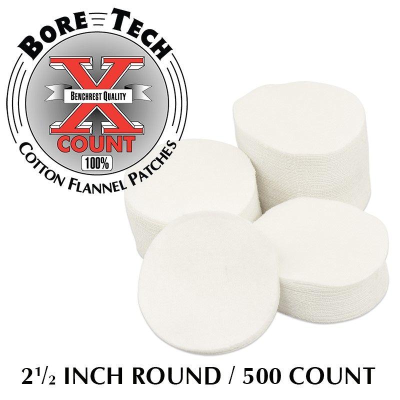 BTPT-212-R500   Bavlněné vytěráky X-Count .35 - .45 (500ks)