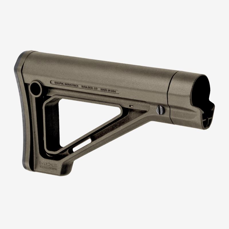 MAG480-ODG   MOE® Fixed Carbine Stock – Mil-Spec (ODG)