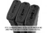MAG803-BLK   Magpul® Tactile Lock-Plate - Type 1, 5 Pack (BLK)