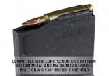 MAG698-BLK   PMAG® 5 AC™ L, Magnum – AICS Long Action (BLK)