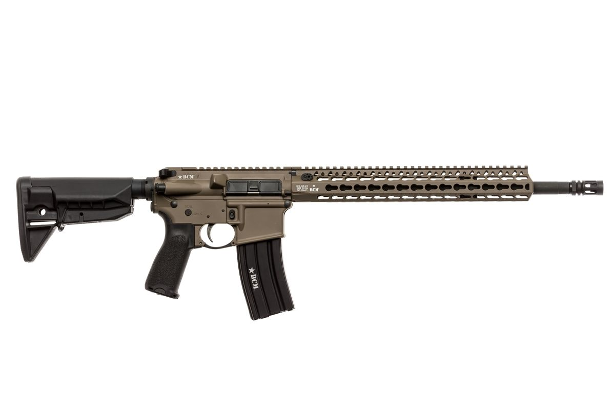 750-790-FDE   BCM® RECCE-16 KMR-A Carbine (Flat Dark Earth)