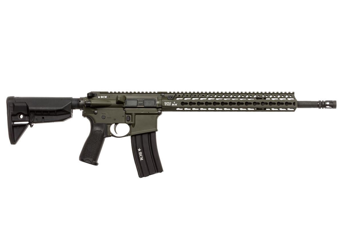 750-790-ODG   BCM® RECCE-16 KMR-A Carbine (OD Green)