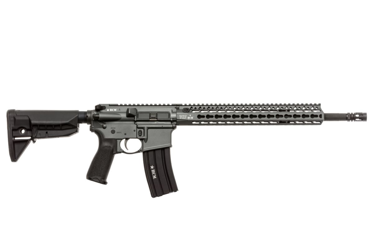 750-790-GRY   BCM® RECCE-16 KMR-A Carbine (Tactical Gray)