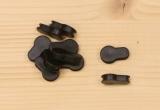 Krytka KeyMod otvorů - černá (10 ks)