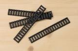 Picatinny rail cover - black (4 pcs)