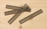 BestPatron Krytka picatiny lišty - žebřík - béžová (4 ks)