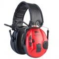 3M Peltor SportTac (kryty černá + červená)