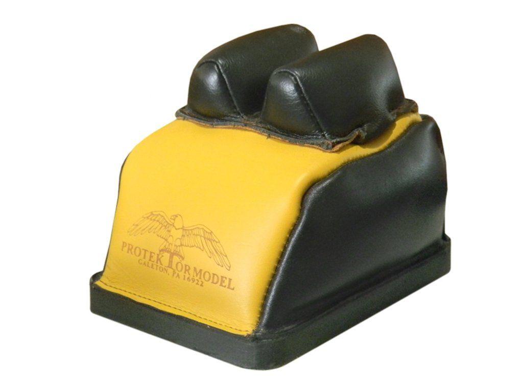 """DBB-BL   Protektor Model - Deluxe Bumble-Bee zadní bag 3/8"""" - Bunny zadní bag ; uši : kůže"""