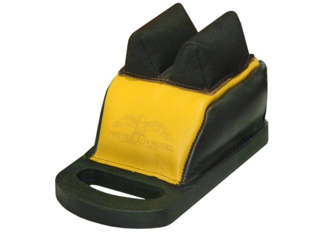 DBBH-ML   Protektor Model - Deluxe Bumble-Bee zadní bag w/ Handle - Mid zadní bag ; uši : kůže