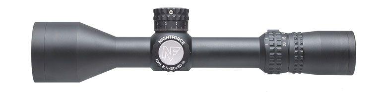 NX8 - 2.5-20x50 mm F1 - ZeroStop™ - .25 MOA - PTL - MIL-C