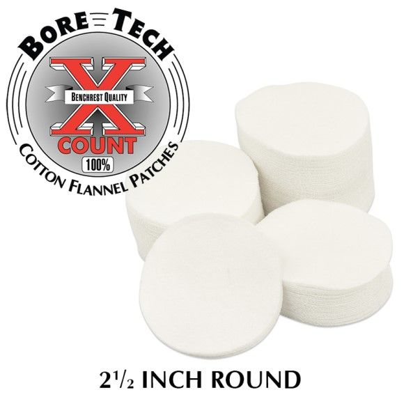 Bore Tech's X-Count Patches .35-.45