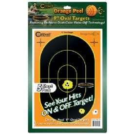 Terče - Orange Peel Oval Target