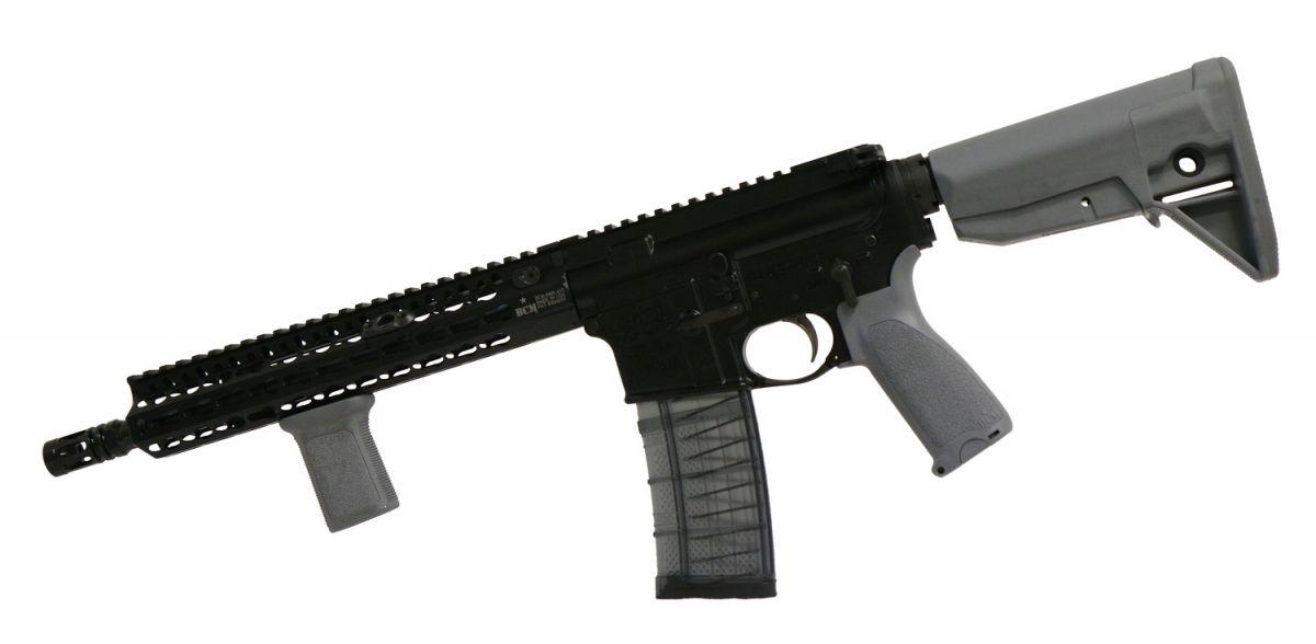 BCM RECCE 11 KMR-A PISTOL GUNFIGHTER - šedé doplňky