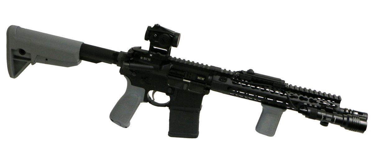 BCM RECCE 11 ADVANCED GUNFIGHTER - BestPatron custom - GRY