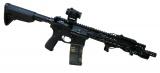 BCM RECCE 11 ADVANCED GUNFIGHTER - BestPatron custom - černé doplňky