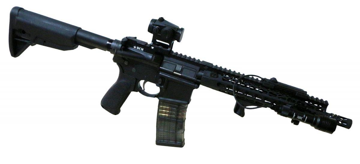 BCM RECCE 11 ADVANCED GUNFIGHTER - BestPatron custom - BLK