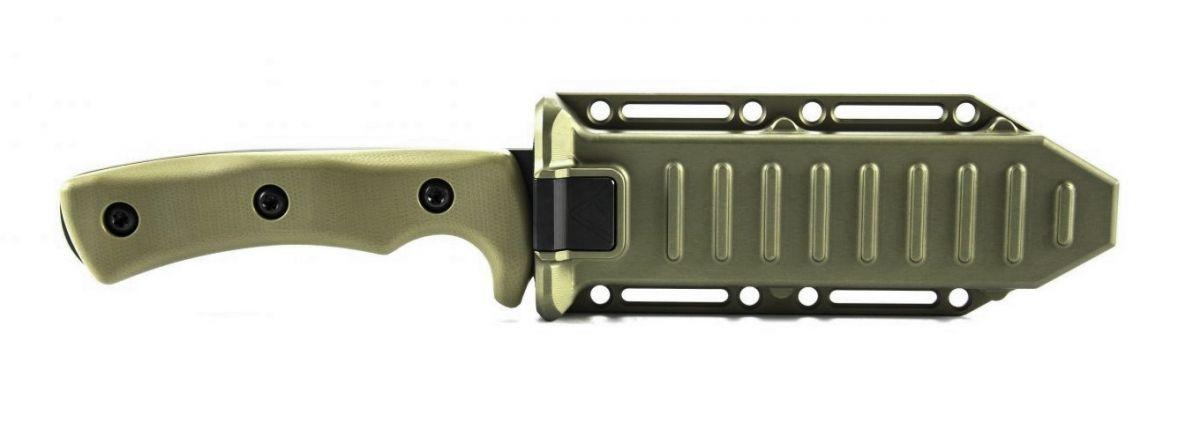 Geissele nůž Goodman Special Operations Combat Knife s pouzdrem - olivová