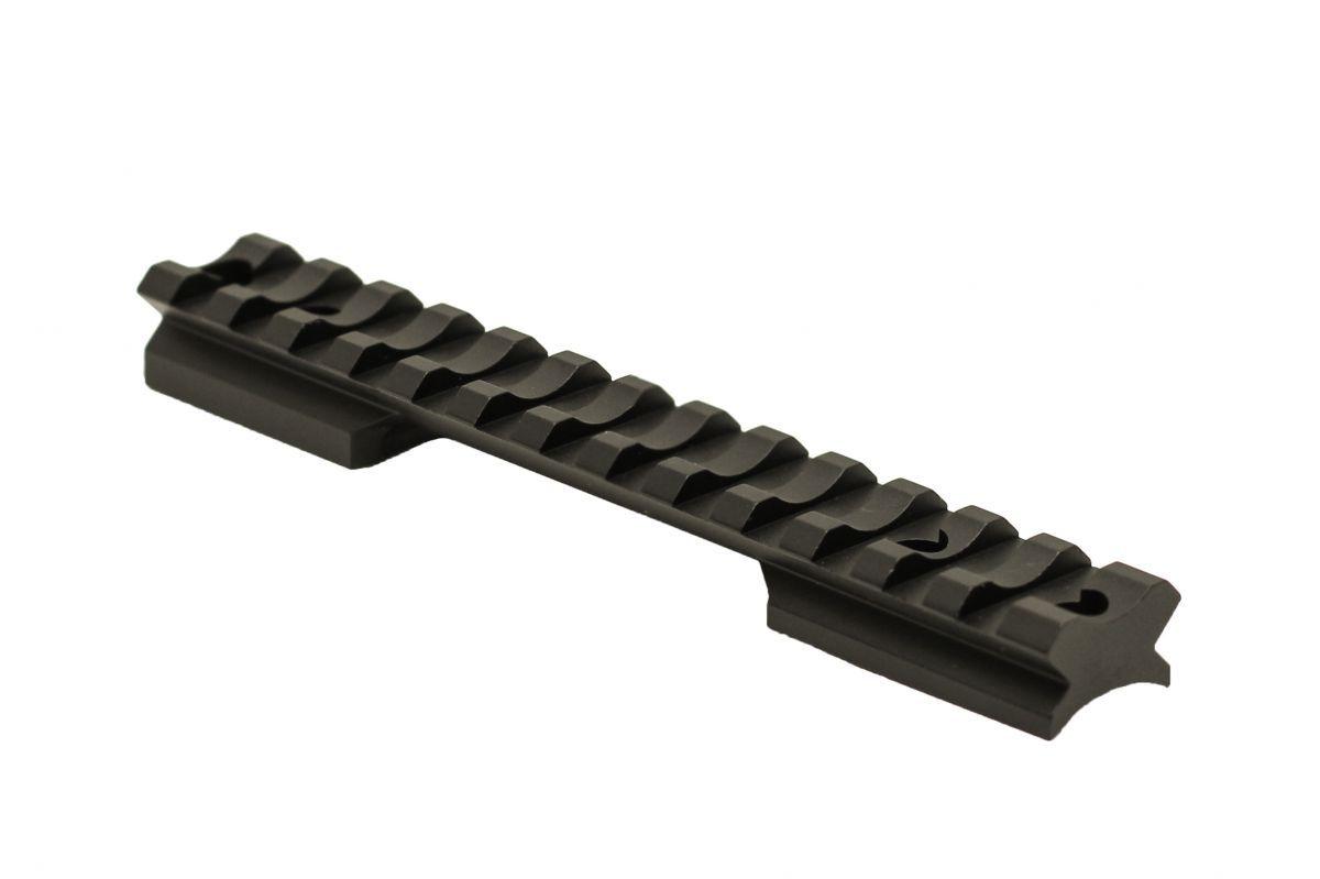 Jednodílná lišta STND pro Remington 700 SA - 0 MOA - hliník
