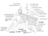 Lower Receiver Parts Kit - AR15