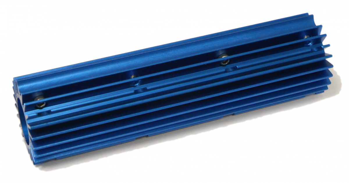 Short Thermal Dissipator - .750 Blue