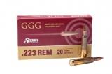 GGG náboj .223 REM - Sierra MatchKing 77grn HPBT
