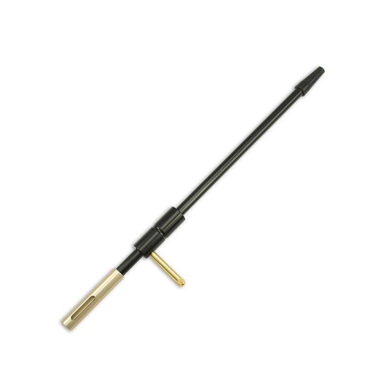 Vodič vytěráku pro klikovky se středovým zápalem pro kalibr .17 - .25 (zlatá)