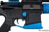 Zvětšený záchyt zásobníku pro AR-15 - modrý
