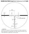 Razor HD LHT 3-15x42 HSR 5i (MOA)