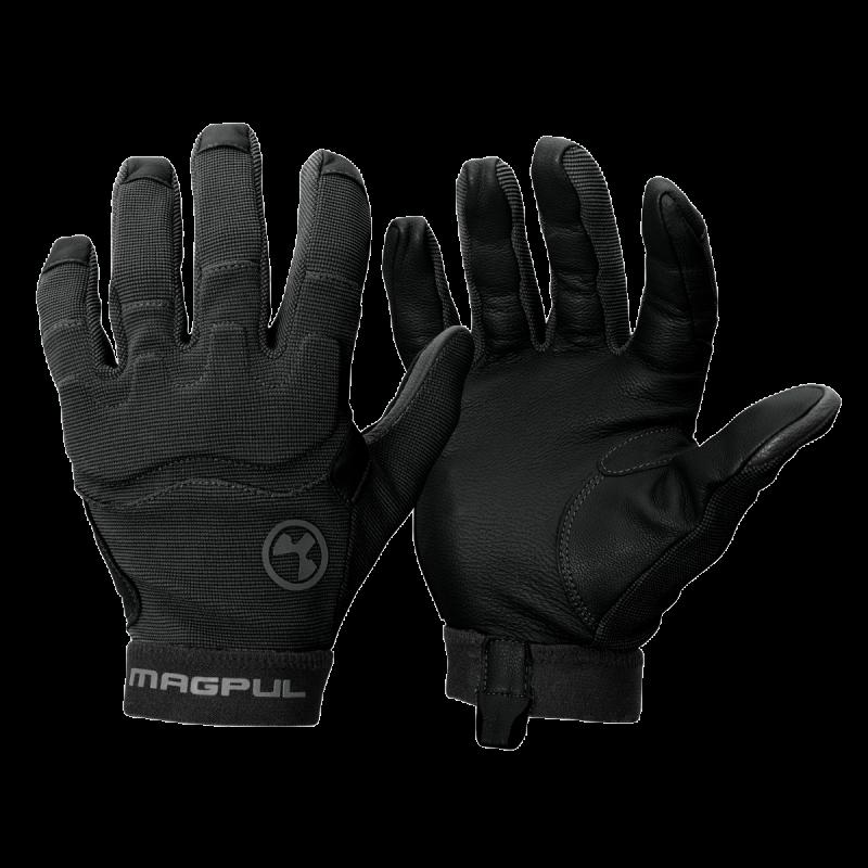 Magpul patrolové rukavice 2.0 - černé, M