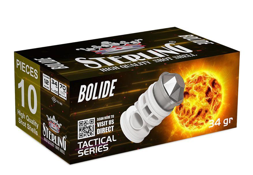Náboj brokový Sterling BOLIDE SLUG 12/70, 34 gr