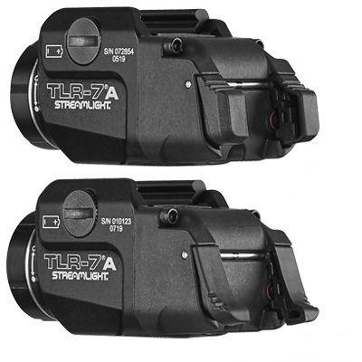 Streamlight TLR-7A FLEX - podvěsná svítilna pro pistole s inovovanými spínači