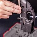 Základna pro snadné vyrážení a zavádění čepů – AR-15