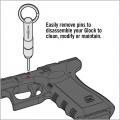 Pomůcka 2 v 1 pro Glock