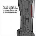 Vyražeče čepu záchytu závěru pro AR-15