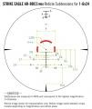 Strike Eagle 1-6x24 AR-BDC3 (MOA) - verze 2020