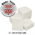 BoreTech Bavlněné čtvercové vytěráky X-Count .284 / 7 mm / .308 (1000 ks)