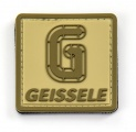 Nášivka Geissele na suchý zip 5 x 5 cm