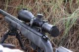 Nightforce NX8 - 4-32x50 mm F2 - ZeroStop - .25 MOA - PTL - MOAR-CF2D