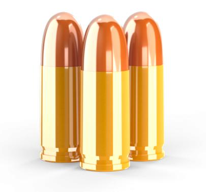 Přebíjený náboj Get Load - 9 mm Luger, 124 gr TMJ RN, PLINKING, CIPováno