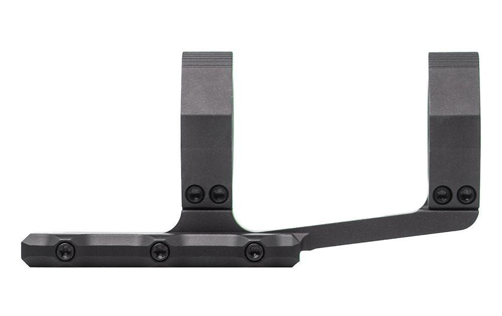 """Aero Precision Exrta prodloužená předsazená odlehčená montáž puškohledu – 34 mm tubus, předsazení 3.875"""", černý elox"""