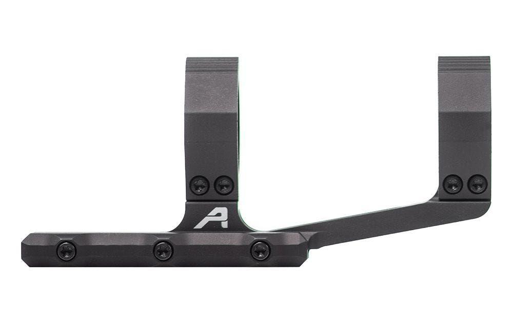 """Aero Precision Exrta prodloužená předsazená odlehčená montáž puškohledu – 30 mm tubus, předsazení 3.875"""", černý elox"""